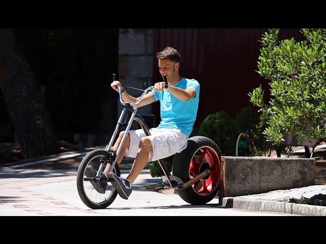 Brutal Bike con Horquilla Hot Rod o Chopper