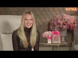 Candice Swanepoel on Juicy Couture, Valentine's Day & That Nude Photo on the Beach