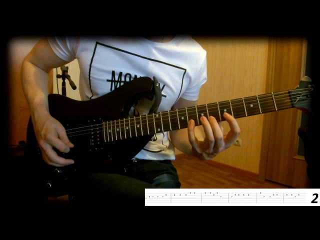 Как играть- Пираты карибского моря на гитаре. Видео урок № 1