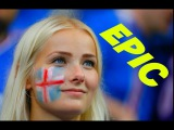 10.000 Iceland Football Fans doing the Viking War Chant Clap