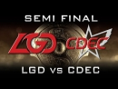 LGD vs CDEC Semi Final TI5 Highlights Dota 2