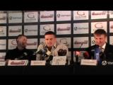 Пресс-конференция Александра Усика и Кшиштофа Гловацки в ТРЦ Gulliver 07.07.2016 (Полная версия)