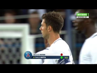 Чемпионат Франции 2016-17 / 5 тур / Кан - ПСЖ / 2 тайм