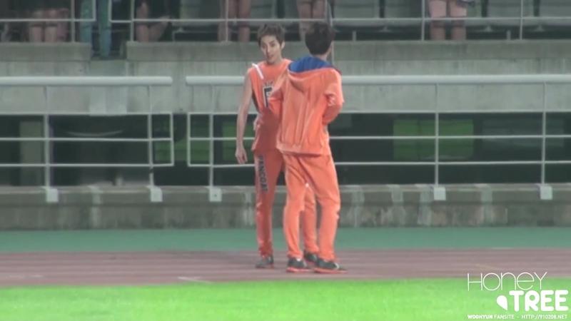 130903 MBC 아이돌 육상 대회 INFINITE WOOHYUN - 우현Part.1