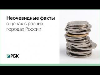 Неочевидные факты о ценах в разных городах России