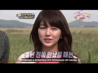 091209  Yoon Eun Hye & Lee Chun Hee - Section TV [рус. саб]