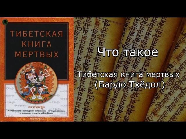Что такое : Тибетская книга мертвых (Бардо Тхёдол)