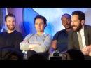 Captain America Civil War Team Cap Press Conference w/ Chris Evans, Kevin Feige, Paul Rudd
