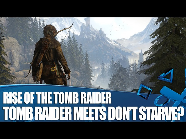 Rise of the Tomb Raider Co-op Survival Gameplay - Tomb Raider meets Don't Starve?