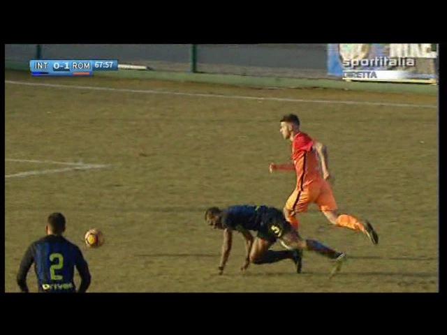 Coppa Italia Primavera Inter - Roma 1-2 (Soleri, Pinamonti, Tumminello)
