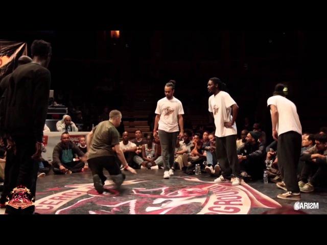 Cercle Underground S2R4 - Hiphop Final - Yudat Vs Germany Team - Karism