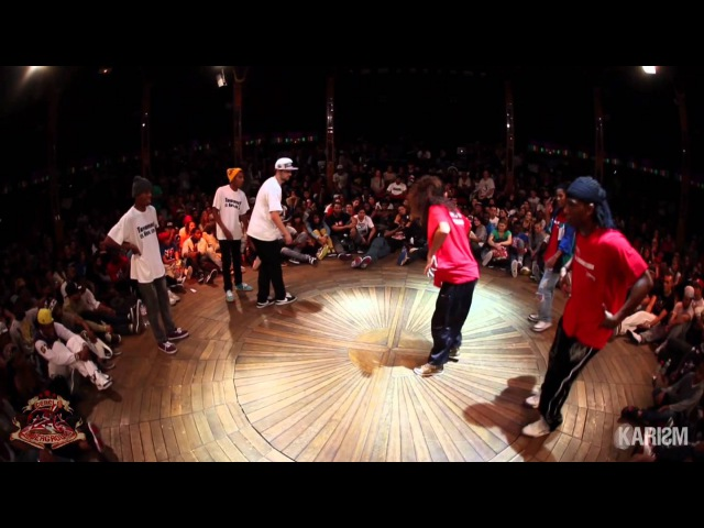 Cercle Underground 4 Hip Hop 1/4 Final Kulture Kids Vs Connexion