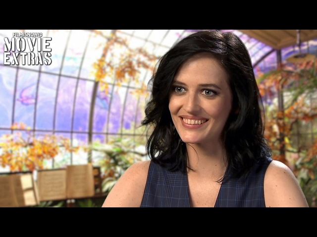 Miss Peregrine's Home For Peculiar Children | On-set visit with Eva Green 'Miss Peregrine'