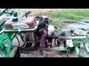Самодельный Мини-Трактор (Едем с травой по грязи)