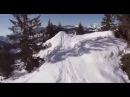 2) Один день глазами безумного лыжника Экстрим. One day through the eyes of a mad skier Extreme.