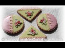 Cookie gift set with swirl roses 3