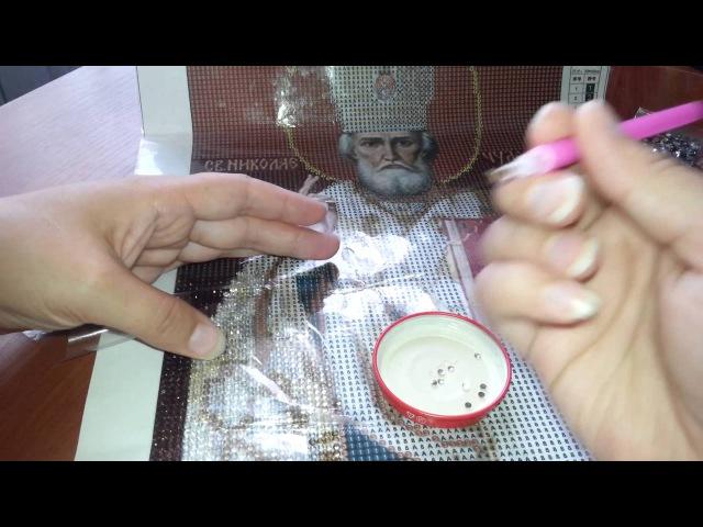 Рекомендации по работе с алмазной вышивкой для начинающих