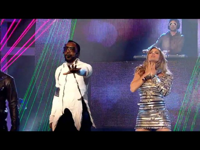 BLACK EYED PEAS - Don't Stop The Party (LIVE on So You Think You Can Dance)