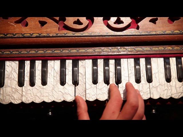 Уроки игры на фисгармонии. Киртан 1 часть 2