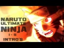 All NARUTO Ultimate Ninja Openings (1-5)