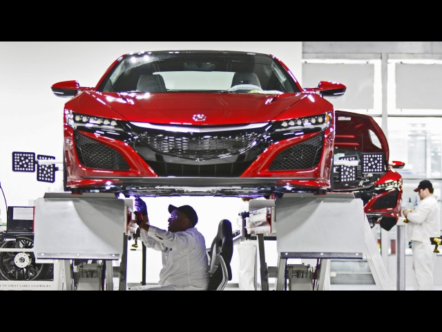 2017 Acura NSX - Made in USA (Performance Manufacturing Center)