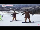 Seventeen One fine day Jeonghan Snowboarding (CUT)