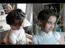 French crown braid/Французская коса по кругу