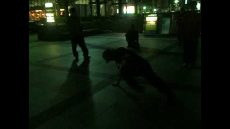Top9Crew (Flying Buddha, Tony Rock, Kosto) jamming in Japan 2007