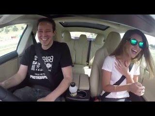Tesla Model S P90D Ludicrous acceleration test: Aussie reactions