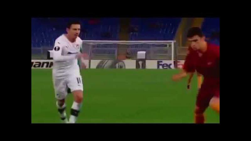 Диего Перотти Самый красивый гол в мире Рома Виктория Пльзень 24 ноября 2016 год