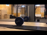 21-15-9 DL 100 kg, Burpees over bar