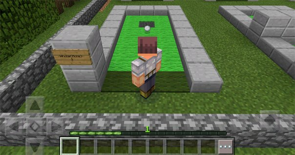 Карта MineGolf 2 для Minecraft PE 0.14.X