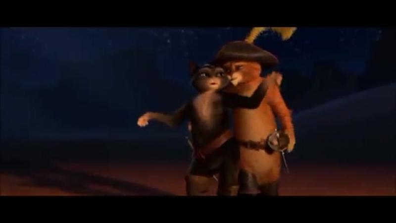 Танец Кота в сапогах и Кисы мягколапки