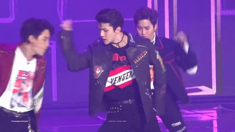 [FANCAM] 170119 The 26th Seoul Music Awards @ EXO's Sehun - Lucky One