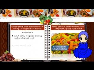 Resep Spesial Ramadhan Acar Kuning Menu Spesial Buka Puasa