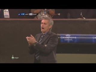 ЛЧ 2009-10 | 1-2 финала | Первый матч | Интер - Барселона 3-1 | 1 тайм