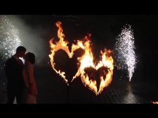Студия огня Bonfire|Свадебная открытка|Фаер шоу|Фейерверк|Вологда