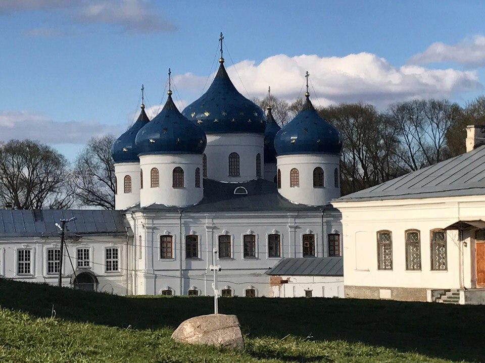 Юрьев Монастырь Великий Новгород
