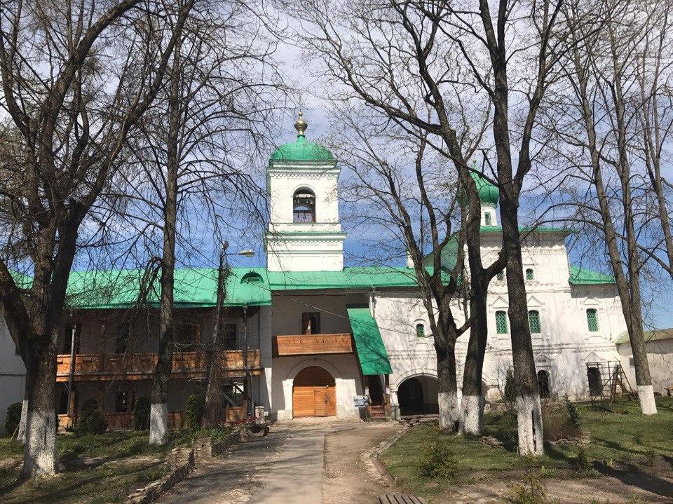Мирожский монастырь Псков.