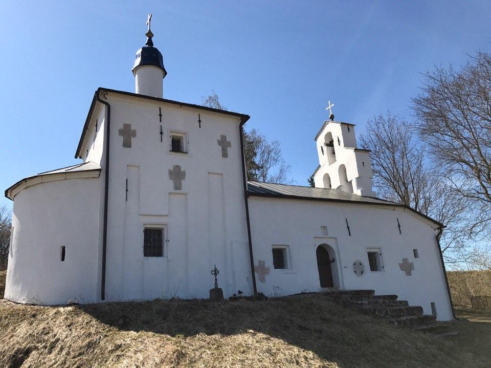 Церковь Николы. Изборск