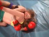 FBB-057 Tatjana vs Yulia - Extreme Female Fight (MMA) - Women Wrestling  Catfight, Female Boxing