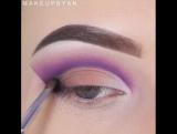 Красивая идея для макияжа. Больше идей для макияжа в нашей группе