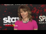 Lucy Lawless SPARTACUS War Of The Damned Premiere Red Carpet ARRIVALS