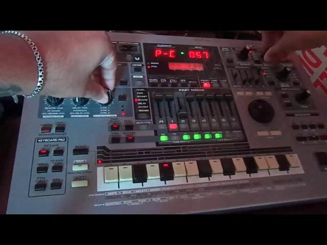 Deep\Tech House on Roland MC-505