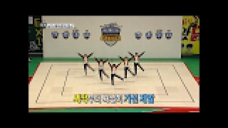 【TVPP】TEEN TOP - Aerobics 'Orchestra conductor', 틴탑 - '오케스트라 지휘자' 에어로빅댄스 @ISAC 2017