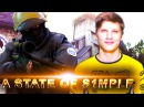 "A ""STATE"" OF S1MPLE - CS:GO BEST OF S1MPLE (VAC SHOTS, INSANE PLAYS & MORE)"