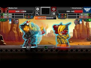 [SuperMechs] Madao San vs thewiseone