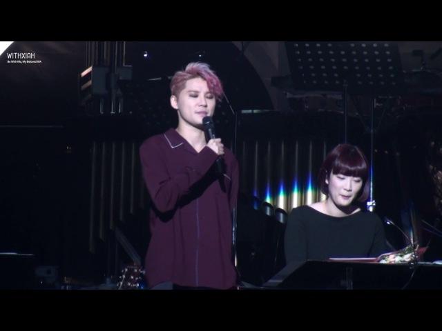 161227 XIA 김준수 genie time in Osaka - Smile 아무노래 대잔치 (feat.별이 낳은 즉석 작곡 천재)
