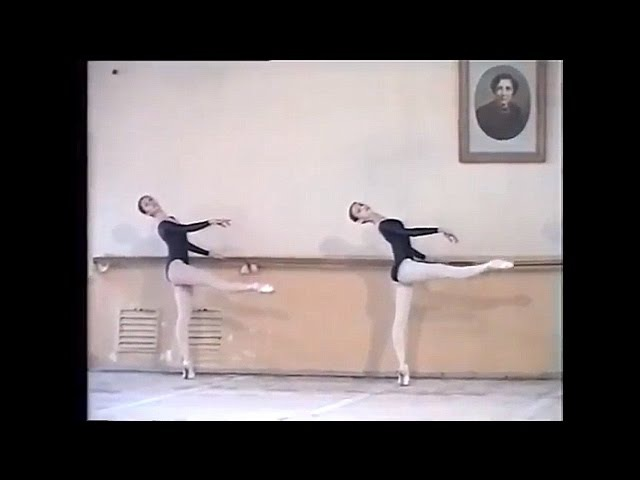 Svetlana Zakharova Graduation Exam (1996), Vaganova Academy