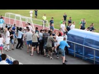 Итог матча в Волгодонске: дрались футболисты, болельщики и даже тренер